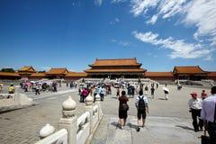 The historical Forbidden City in Beijing Stock Image