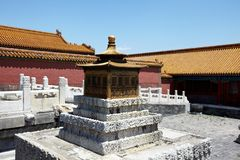 The historical Forbidden City in Beijing Royalty Free Stock Photography