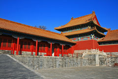 The historical Forbidden City in Beijing Stock Image