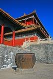 The historical Forbidden City in Beijing stock photo