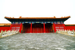 The historical Forbidden City Museum in Beijing Stock Images