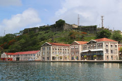 Free Historical Fort George In St. George`s, Grenada Royalty Free Stock Photos - 94653108