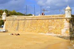 The historical Forte da Ponda da Bandeira Stock Images