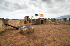 Historical Fortress at Dominican Republic Royalty Free Stock Image