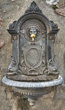 Historical fountain. Assisi. Umbria. Stock Images