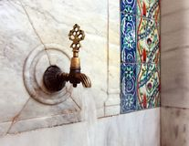 Historical fountain Royalty Free Stock Photos