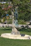 historical fountain details ornaments and objects Stock Photo