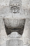 Historical fountain of Spoleto. Umbria. Stock Photo