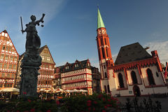 Historical Frankfurt Main, Germany Royalty Free Stock Images