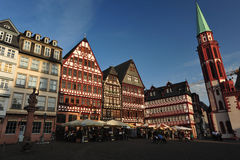 Historical Frankfurt Main, Germany Royalty Free Stock Photos