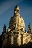 Famous Frauenkirche of Dresden, Germany royalty free stock photo