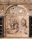 Historical fresco Royalty Free Stock Photo