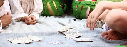 Historical Gambling Royalty Free Stock Images