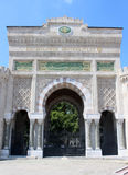 Historical gate of İstanbul University Royalty Free Stock Image