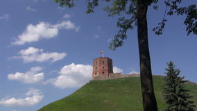Historical Gediminas castle tower in Vilnius, Lithuania Stock Photos