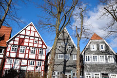 Historical german house in germany Royalty Free Stock Image