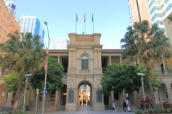 Historical GPO building Brisbane Australia. People visit Historical GPO building in Brisbane Australia Stock Photography