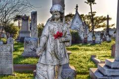 Historical gravestones Royalty Free Stock Photo