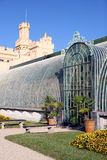 Historical Greenhouse by the castle Lednice - Sout Stock Photo