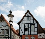 Historical half-timbered house Royalty Free Stock Photos