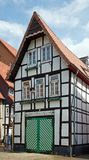 Historical half-timbered house Stock Photography