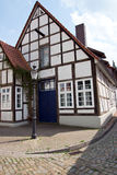 Historical half-timbered house Royalty Free Stock Photography