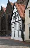 Historical half-timbered house Stock Images
