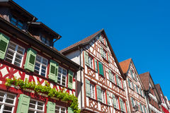 Historical half-timbered houses in Schiltach Royalty Free Stock Image