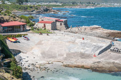 Historical harbour museum in Hermanus Stock Photography