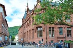 Historical Heidelberg University Library royalty free stock photos
