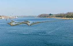 Historical herring weir Stock Photography