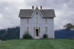 Historical home. In Coeur D'Alene, Idaho Stock Photo