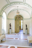 Historical home details with open doors Stock Photos