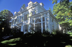 Historical home of Thomas Nast, political cartoonist in Morristown, NJ Royalty Free Stock Image