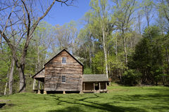 Historical homestead in Cades Cove. Royalty Free Stock Images