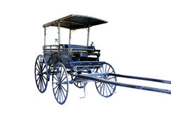 Historical horse drawn buggy Royalty Free Stock Image