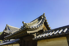 The historical Horyu Ji Royalty Free Stock Photography