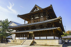 The historical Horyu Ji Royalty Free Stock Image