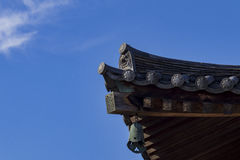The historical Horyu Ji Royalty Free Stock Photos