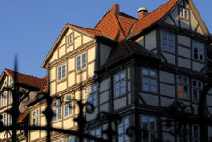 Historical house in Hanover Stock Photos