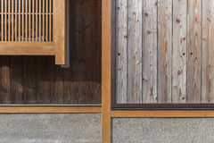Historical house in Kyoto, Japan Stock Photos