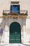 Historical house. Martano. Puglia. Italy. Royalty Free Stock Photos