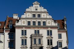 Historical House in Munchen Royalty Free Stock Image