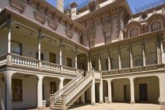 Historical house in Sacramento California. Historical mansion backyard in Sacramento california stock photos