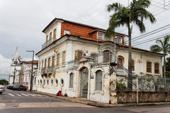 Historical House in Sao Luis do Maranhao Stock Photo