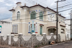 Historical House in Sao Luis do Maranhao Stock Photo