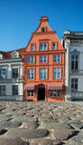 Historical house in Stralsung,  Northern Germany Stock Photography