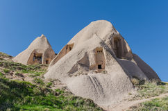 Historical house in volcanic rock, Cappadocia Royalty Free Stock Photography