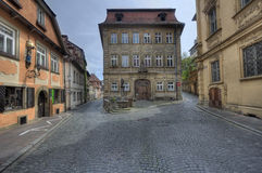Historical houses in Bamberg, Germany Stock Image