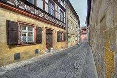Historical houses in Bamberg, Germany Stock Photos